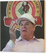 Cincinnati Reds Hall Of Fame News 4 Wood Print