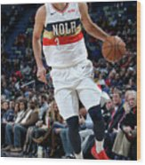 Cleveland Cavaliers V New Orleans Wood Print