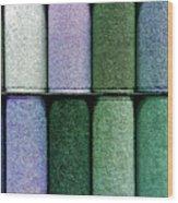 Colourful Carpet Samples Wood Print