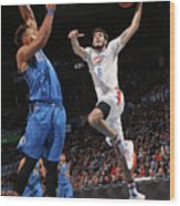 Dallas Mavericks V Oklahoma City Thunder Wood Print