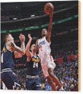 Denver Nuggets V La Clippers Wood Print