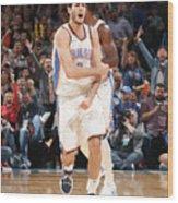 Denver Nuggets V Oklahoma City Thunder Wood Print