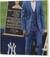 Derek Jeter Ceremony 4 Wood Print
