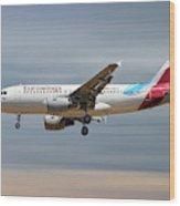 Eurowings Airbus A319-112 Wood Print