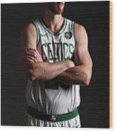 Gordon Hayward Boston Celtics Portraits Wood Print