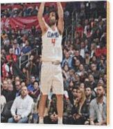 Houston Rockets V La Clippers Wood Print