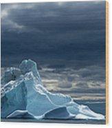 Icebergs, Disko Bay, Greenland Wood Print