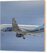 Interjet Airbus A320-214 Wood Print