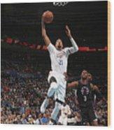La Clippers V Oklahoma City Thunder Wood Print