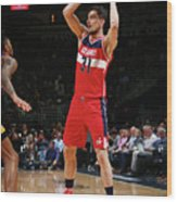 Los Angeles Lakers V Washington Wizards Wood Print