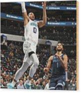 Memphis Grizzlies V Charlotte Hornets Wood Print