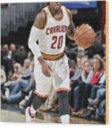Memphis Grizzlies V Cleveland Cavaliers Wood Print