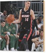 Miami Heat V Milwaukee Bucks Wood Print