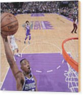 Milwaukee Bucks V Sacramento Kings Wood Print