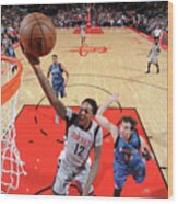 Minnesota Timberwolves V Houston Rockets Wood Print