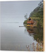 Misty Ullswater Wood Print