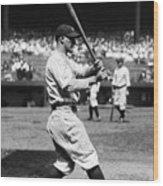 New York Yankees 4 Wood Print