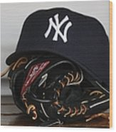 New York Yankees V Florida Marlins Wood Print
