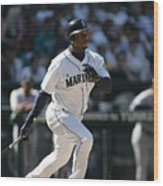 New York Yankees V Seattle Mariners Wood Print