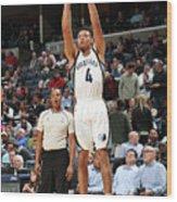 Orlando Magic V Memphis Grizzlies Wood Print