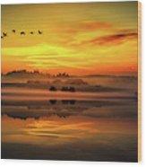 Peaceful Serenity Wood Print