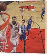 Philadelphia 76ers V Chicago Bulls Wood Print