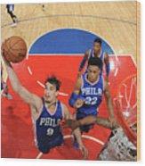 Philadelphia 76ers V La Clippers Wood Print