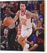 Portland Trail Blazers V Phoenix Suns Wood Print