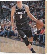 Sacramento Kings V San Antonio Spurs Wood Print