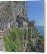 Santa Caterina Del Sasso - Italy Wood Print