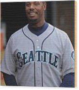 Seattle Mariners V Detroit Tigers Wood Print