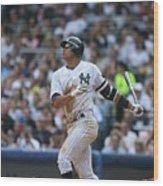 Seattle Mariners V New York Yankees 4 Wood Print