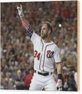 T-mobile Home Run Derby 4 Wood Print