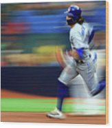 Toronto Blue Jays V Tampa Bay Rays Wood Print
