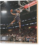 Verizon Slam Dunk Contest 2017 Wood Print
