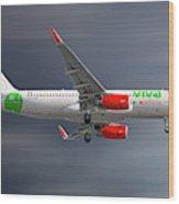 Vivaaerobus Airbus A320-232 Wood Print