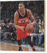 Washington Wizards V Milwaukee Bucks Wood Print