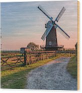 Wilton Windmill - England Wood Print