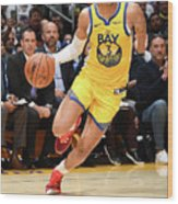 Golden State Warriors V Los Angeles Wood Print
