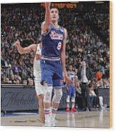 Phoenix Suns V Sacramento Kings Wood Print