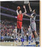 Atlanta Hawks V Philadelphia 76ers Wood Print