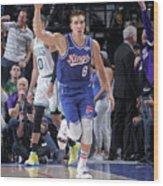 Boston Celtics V Sacramento Kings Wood Print