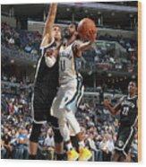 Brooklyn Nets V Memphis Grizzlies Wood Print