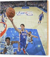 Brooklyn Nets V Philadelphia 76ers - Wood Print