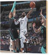 Charlotte Hornets V Memphis Grizzlies Wood Print