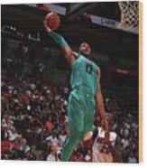 Charlotte Hornets V Miami Heat Wood Print