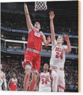 Chicago Bulls V Sacramento Kings Wood Print