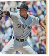 Chicago White Sox V Chicago Cubs Wood Print
