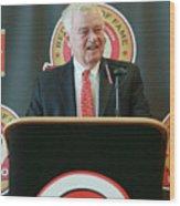 Cincinnati Reds Hall Of Fame News 5 Wood Print