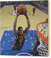 Cleveland Cavaliers V Philadelphia 76ers Wood Print